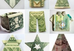 Australian Money Origami How To Fold Money Origami Or Dollar Bill Origami