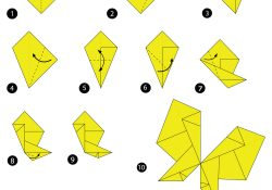 Butterfly Origami Instructions Step Instructions How To Make Origami A Butterfly