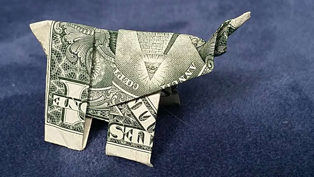 Dollar Bill Origami Shirt With Tie Dollar Bill Craft And Paper Folding