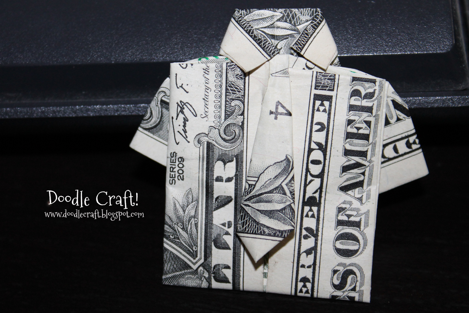 Dollar Bill Origami Shirt With Tie Origami Money Folding Shirt And Tie