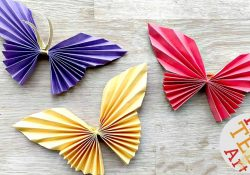 Easy Butterfly Origami Easy Paper Butterfly Origami Cute Easy Butterfly Diy Origami For Beginners