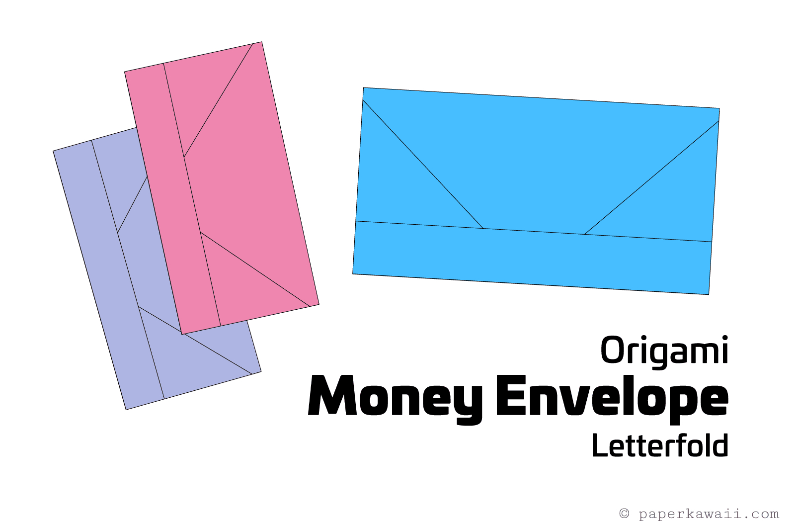 Easy Money Origami Instructions For Kids Origami Money Envelope Letter Fold Tutorial