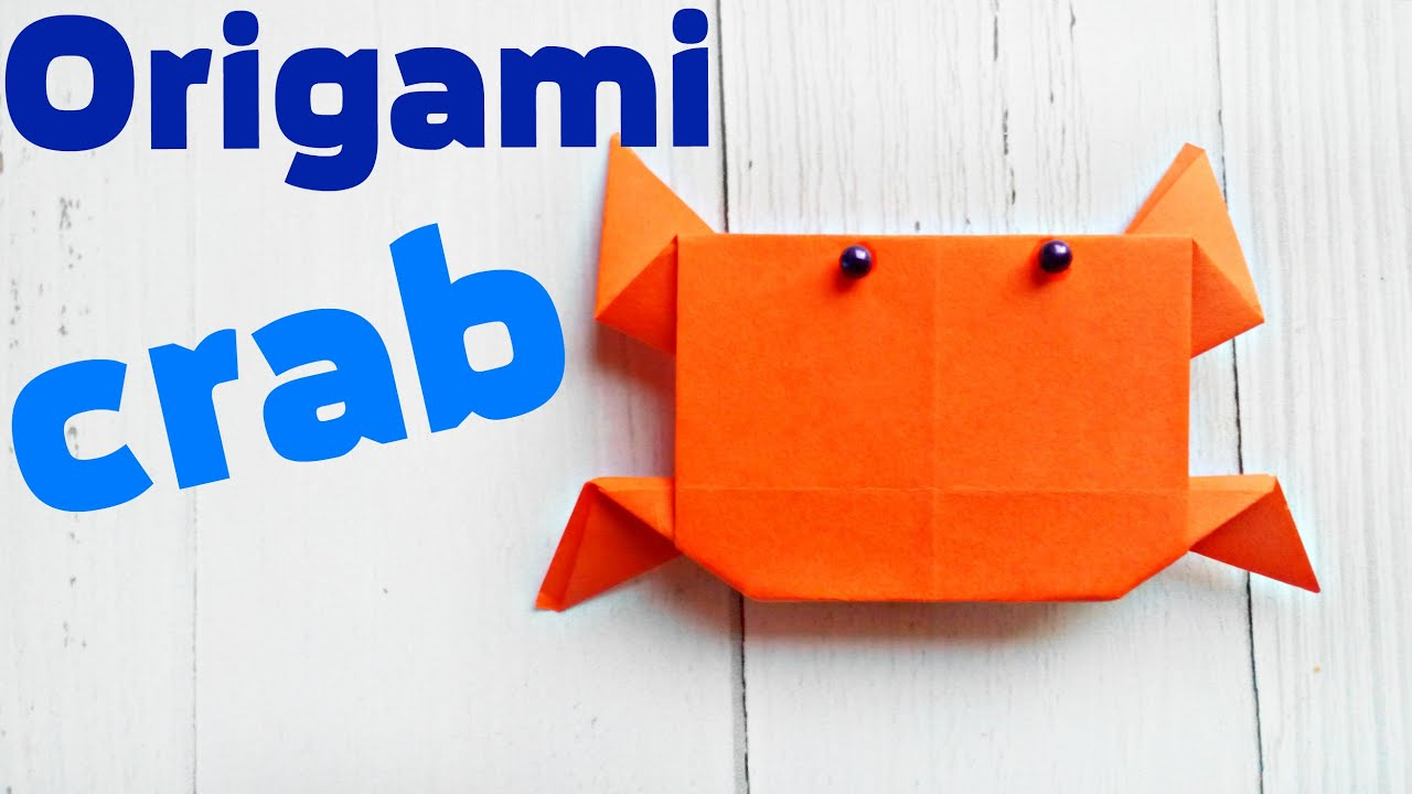 Easy Origami Diagrams Origami Crab Cancer Easy Tutorial 3d Instructions Origami Diagrams For Children For Beginners