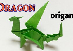 Easy Origami Dragon Step By Step Origami Dragon Tutorial Step Step How To Make A Paper Dragon One Piece Of Paper