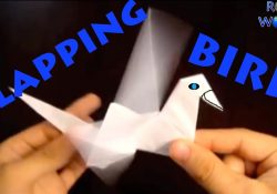 Flapping Bird Origami Instructions How To Make An Origami Flapping Bird Robs World