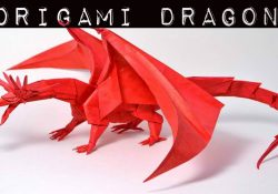 How To Fold A Origami Dragon How To Make Origami Dragon Origami Dragon