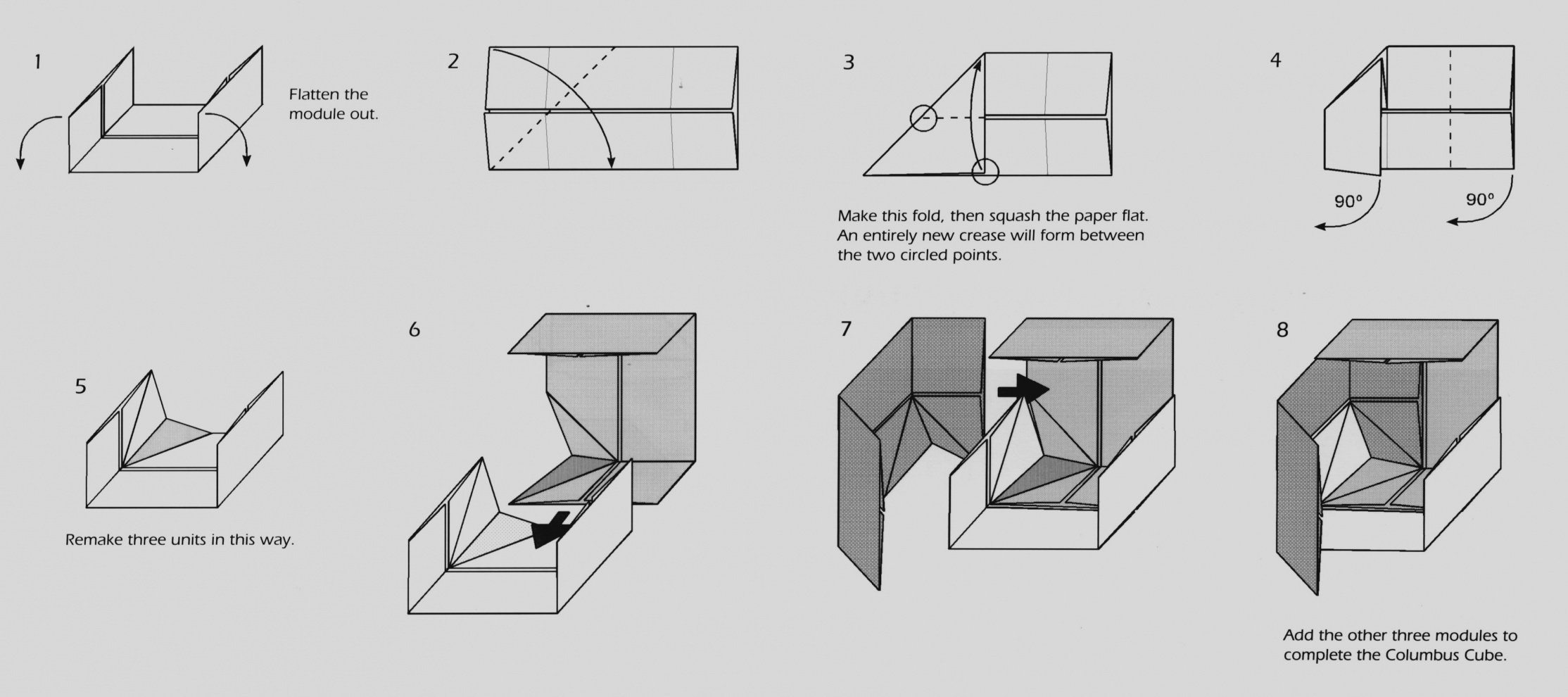 How To Fold Origami Cube How To Fold Origami Origami Fold Your Own Fold Origami