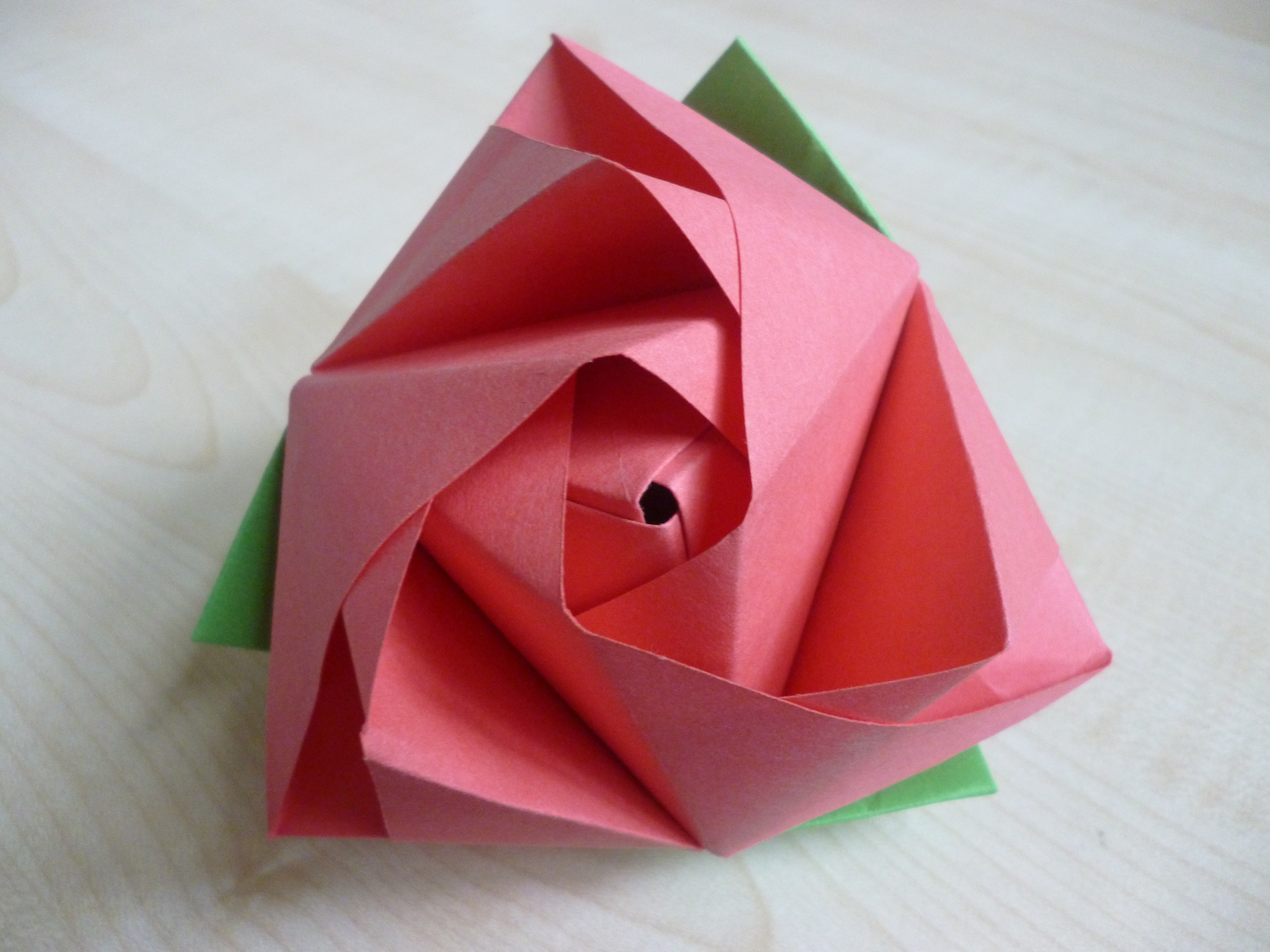 How To Fold Origami Cube Magic Rose Cube Learn 2 Origami Origami Paper Craft