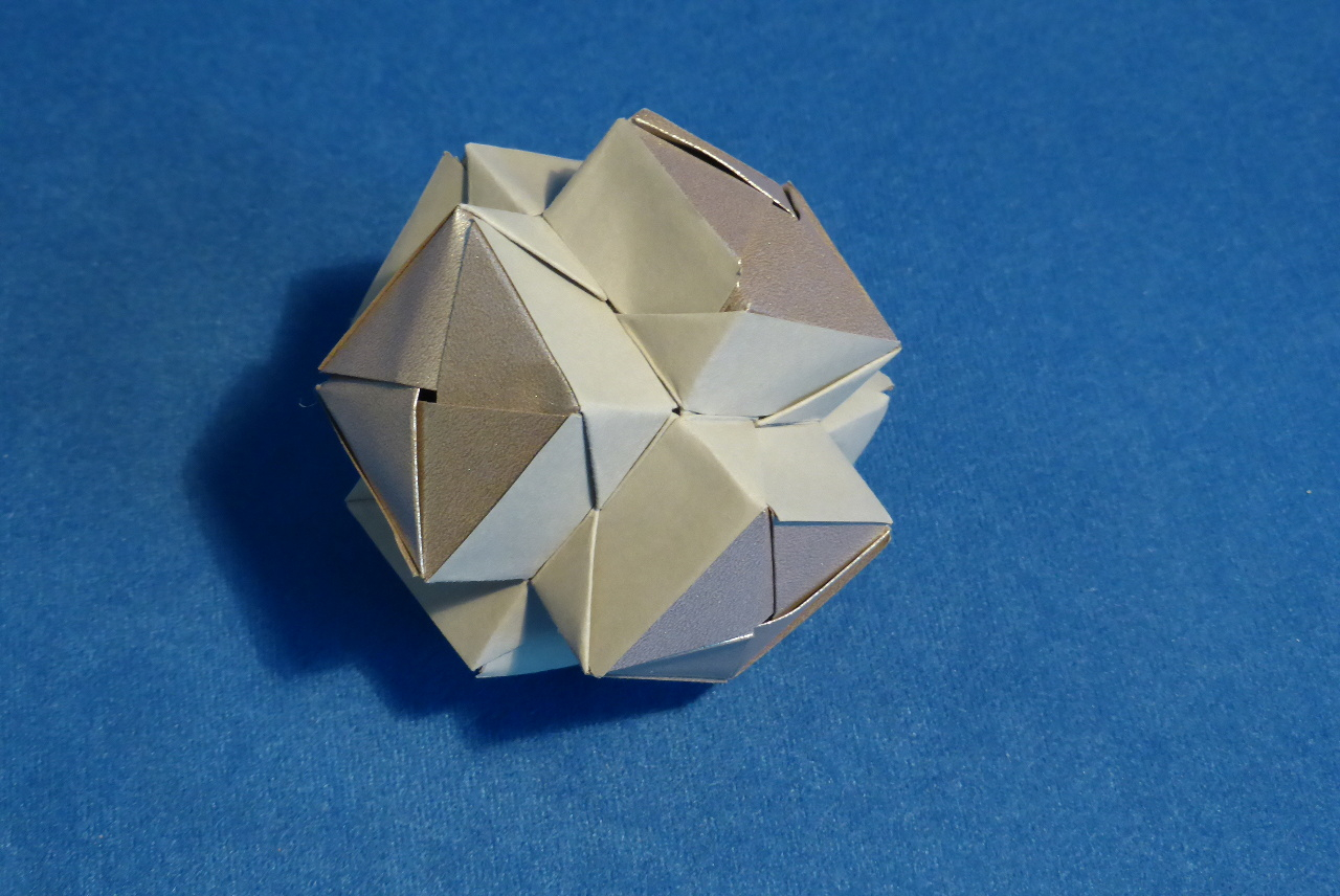 How To Fold Origami Cube Modular Origami Spiky Balls And Stellated Polyhedra Models Folded