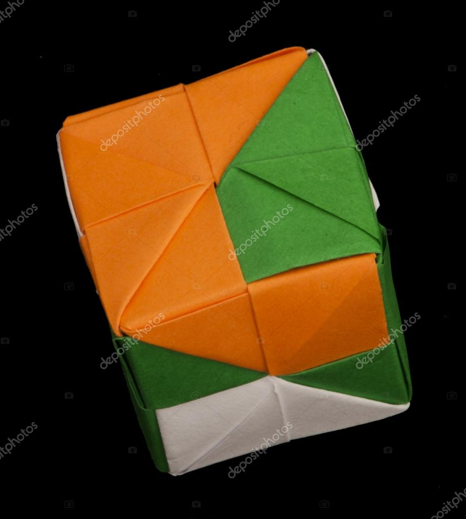 How To Fold Origami Cube Paper Cubes Folded Origami Style Stock Photo Deyangeorgiev2