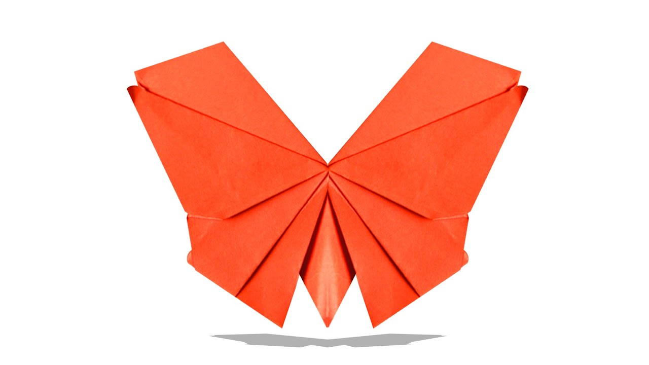 How To Make A 3D Origami Butterfly 3d Origami Butterfly Diy Origami Butterfly Learn Origami Easy Origami Butterfly
