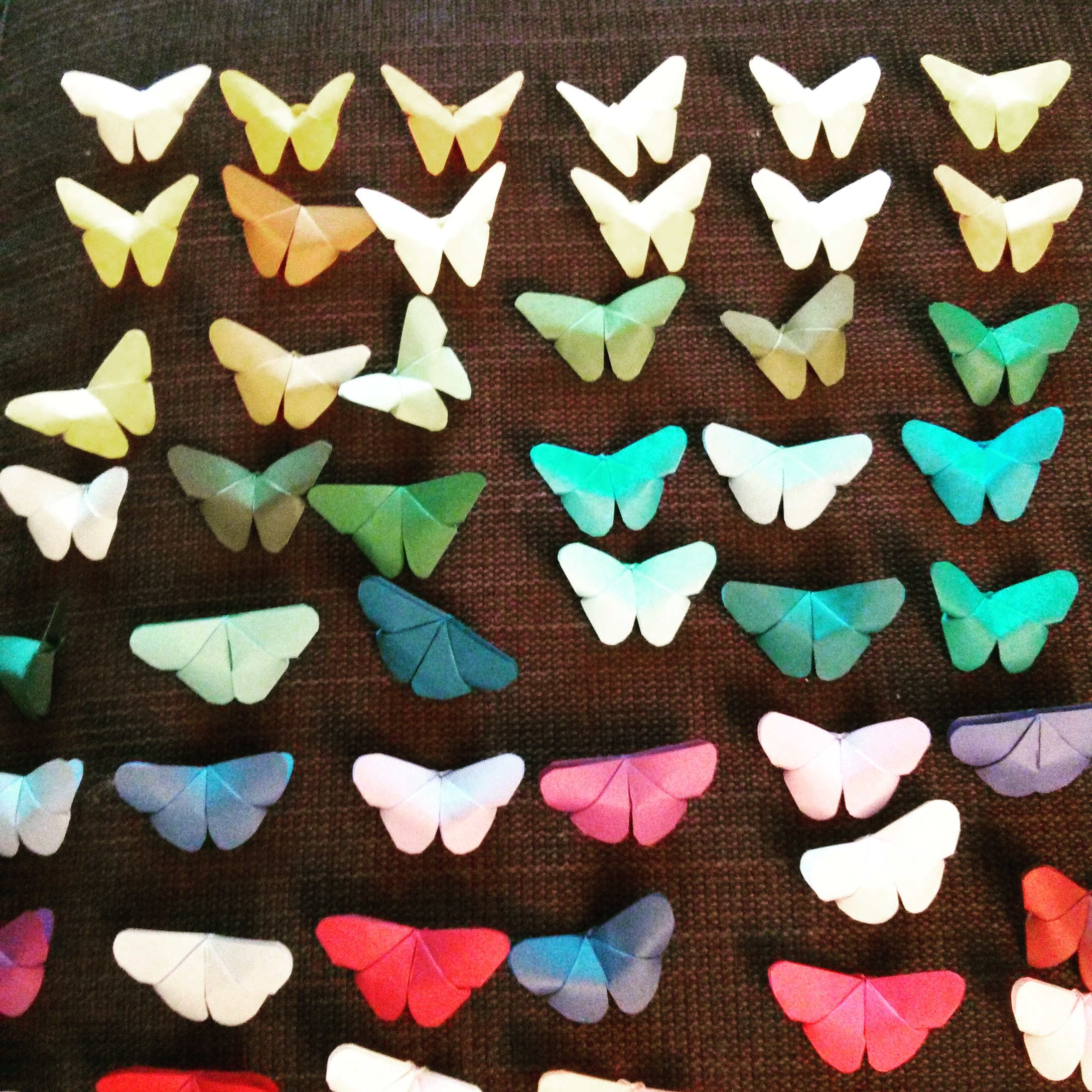 How To Make A 3D Origami Butterfly Diy Origami Butterfly Mobile