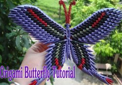 How To Make A 3D Origami Butterfly How To Make 3d Origami Butterfly Diy Paper Butterfly Tutorial