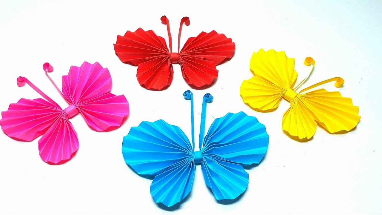 How To Make A 3D Origami Butterfly Origami Tutorial How To Fold An Easy Paper Origami Butterflies Step Step3d
