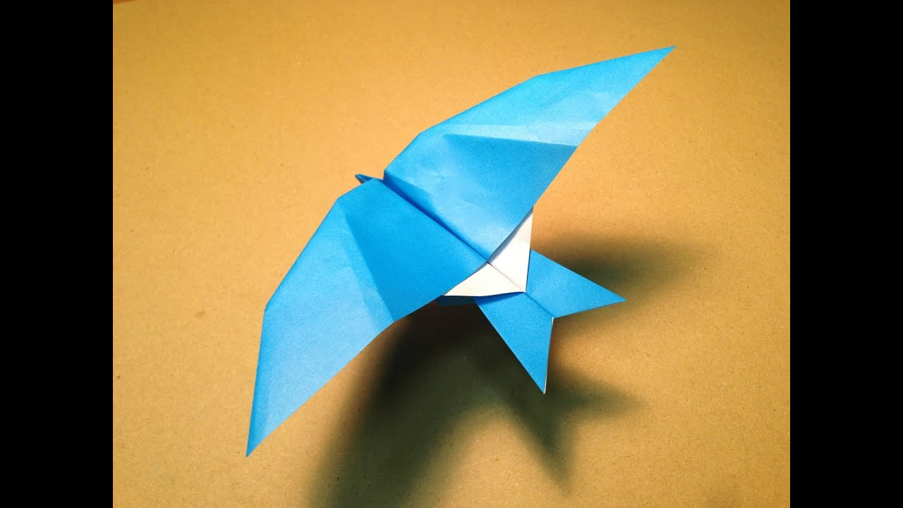 How To Make A Bird With Origami A Origami Bird