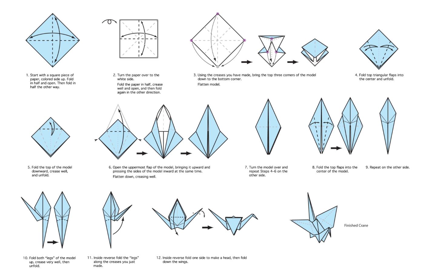 How To Make A Bird With Origami Cranes Easy Crafting