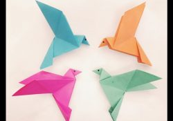 How To Make A Bird With Origami How To Make A Paper Bird Easy Origami