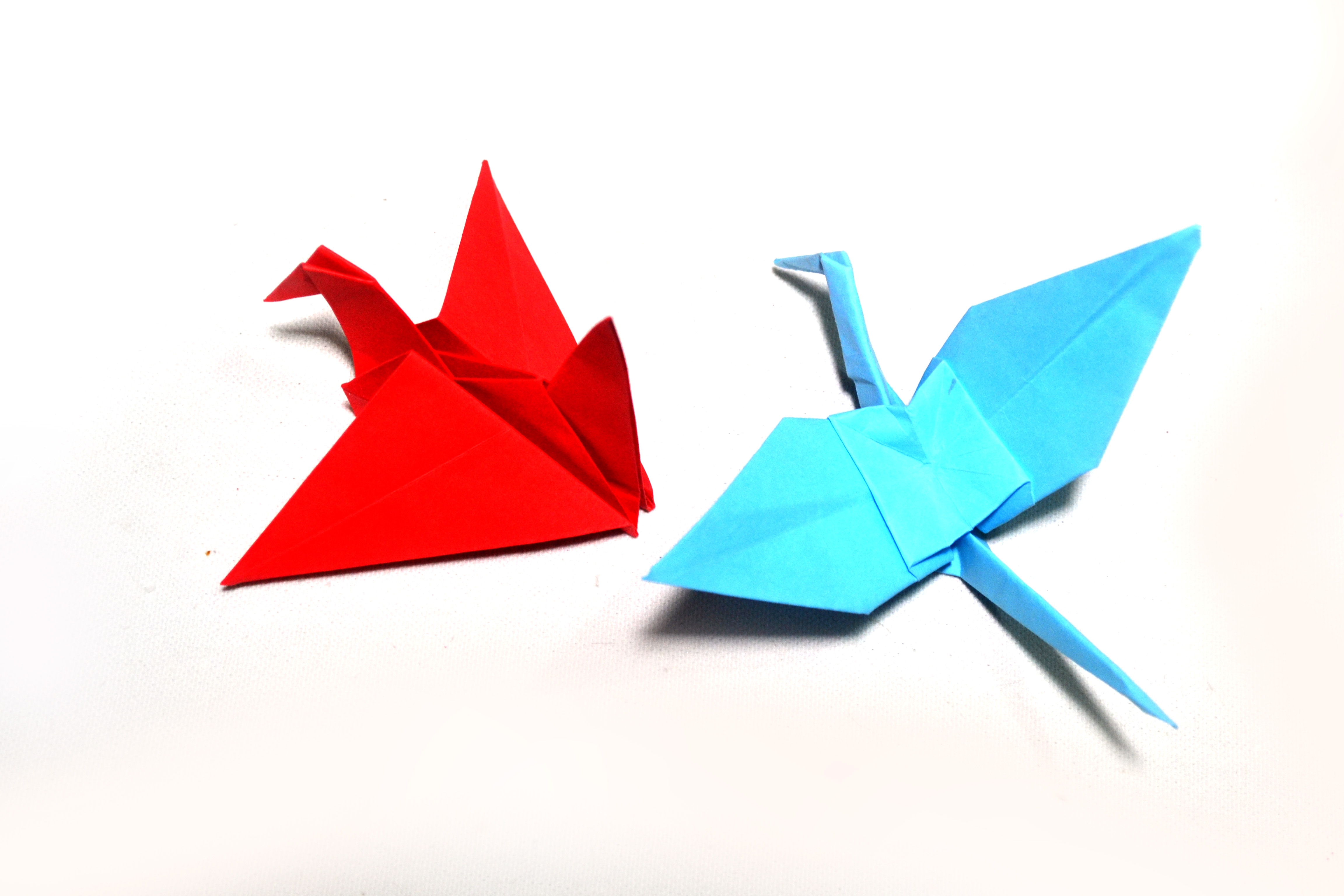 How To Make A Bird With Origami How To Make Origami Birds With Pictures Wikihow