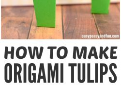 How To Make A Flower Origami Step By Step How To Make Origami Flowers Origami Tulip Tutorial With Diagram