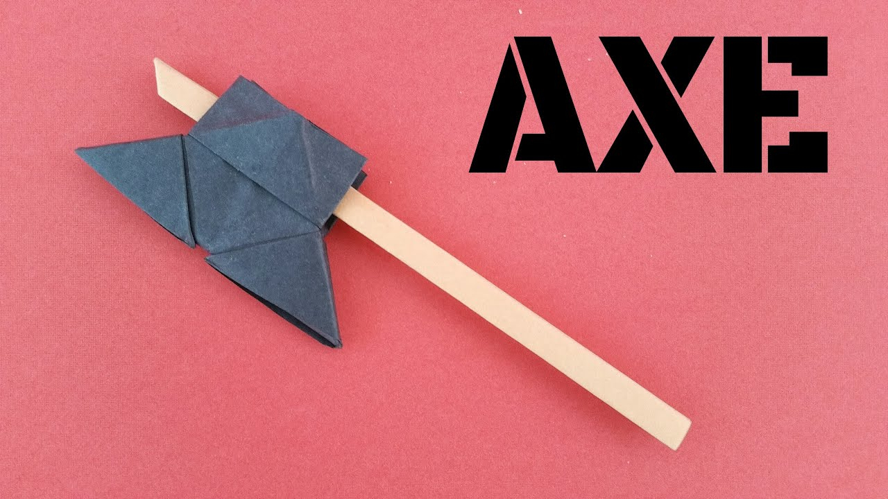 How To Make A Origami Gun Weapons Paperfoldsin Origami Arts And Crafts