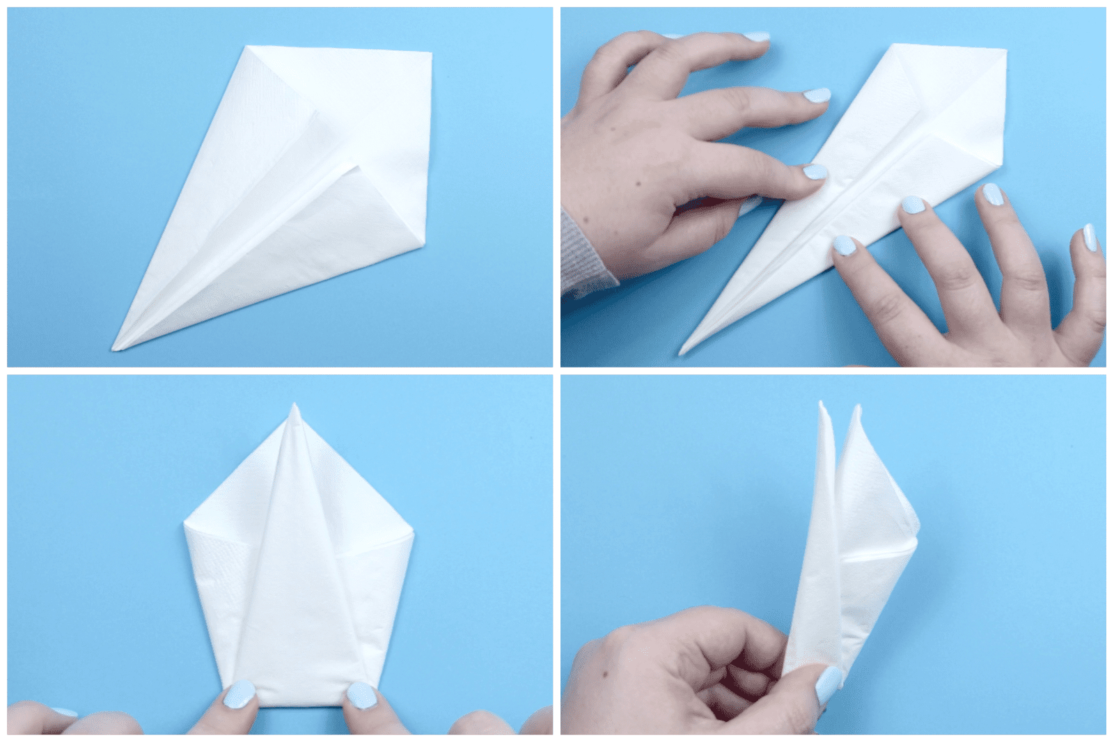 How To Make An Origami 3D Swan How To Make An Origami Napkin Swan