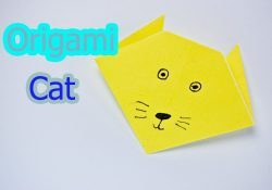 How To Make An Origami Cat Face How To Make An Origami Cat Face