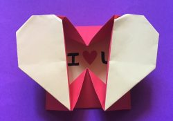 How To Make An Origami Heart How To Make An Easy Origami Heart Box Envelope Paperheart Box Origami Tutorial