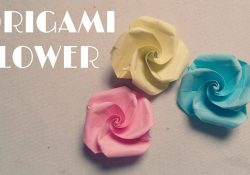 How To Make An Origami Rose Easy Origami Easy Origami Flower Tutorial
