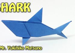 How To Make An Origami Shark Origami Shark Origami Easy Tutorial