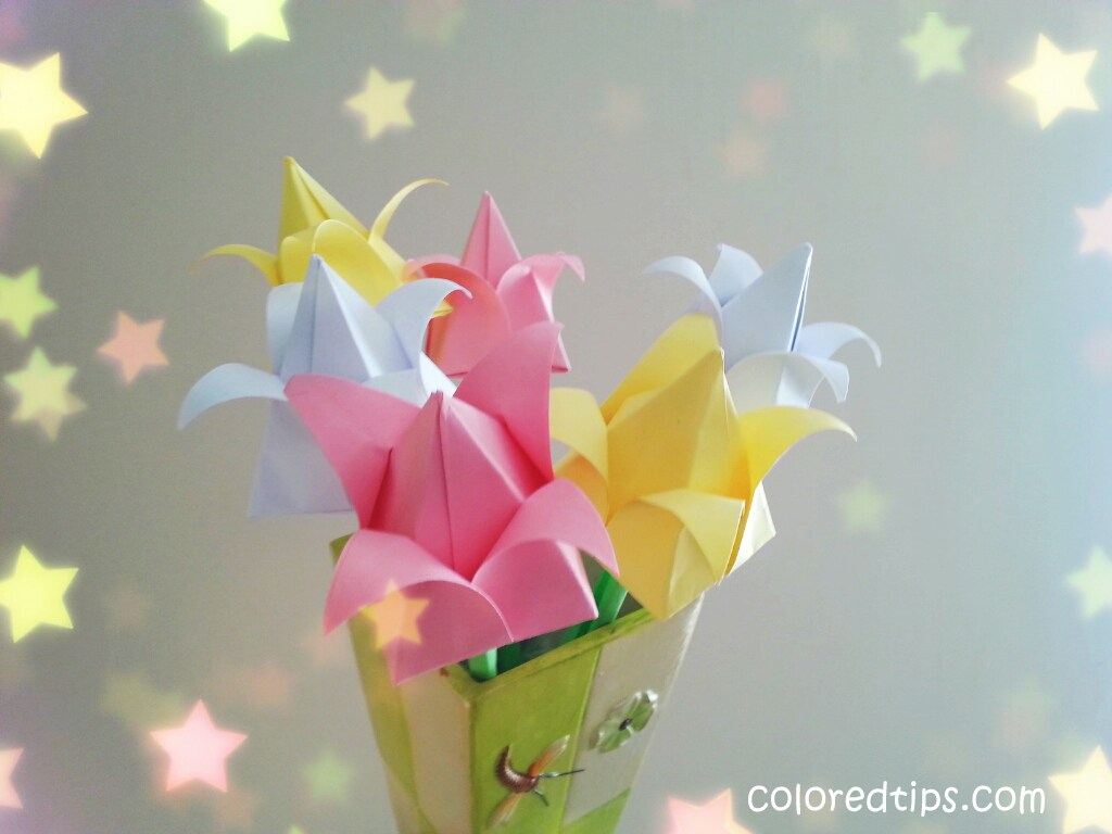 How To Make An Origami Tulip How To Make An Origami Tulip Amazing Paper Tulips Idunn Goddess