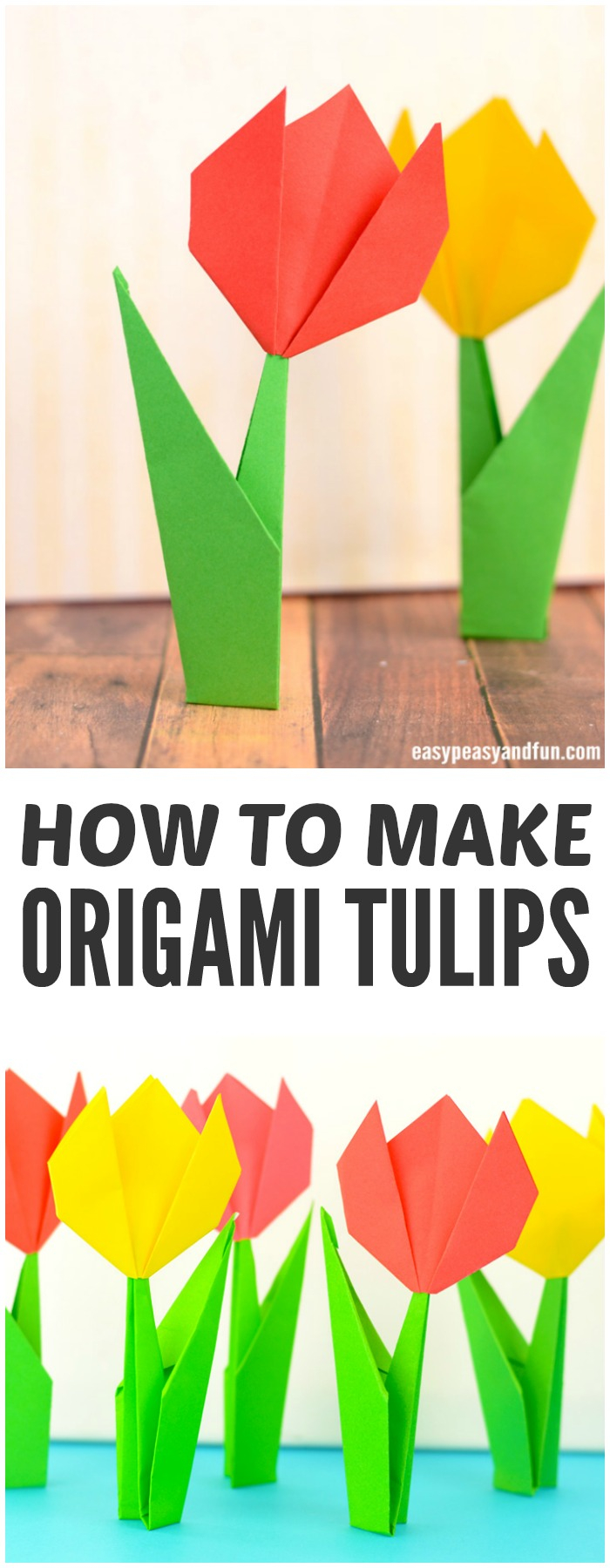 How To Make An Origami Tulip How To Make Origami Flowers Origami Tulip Tutorial With Diagram