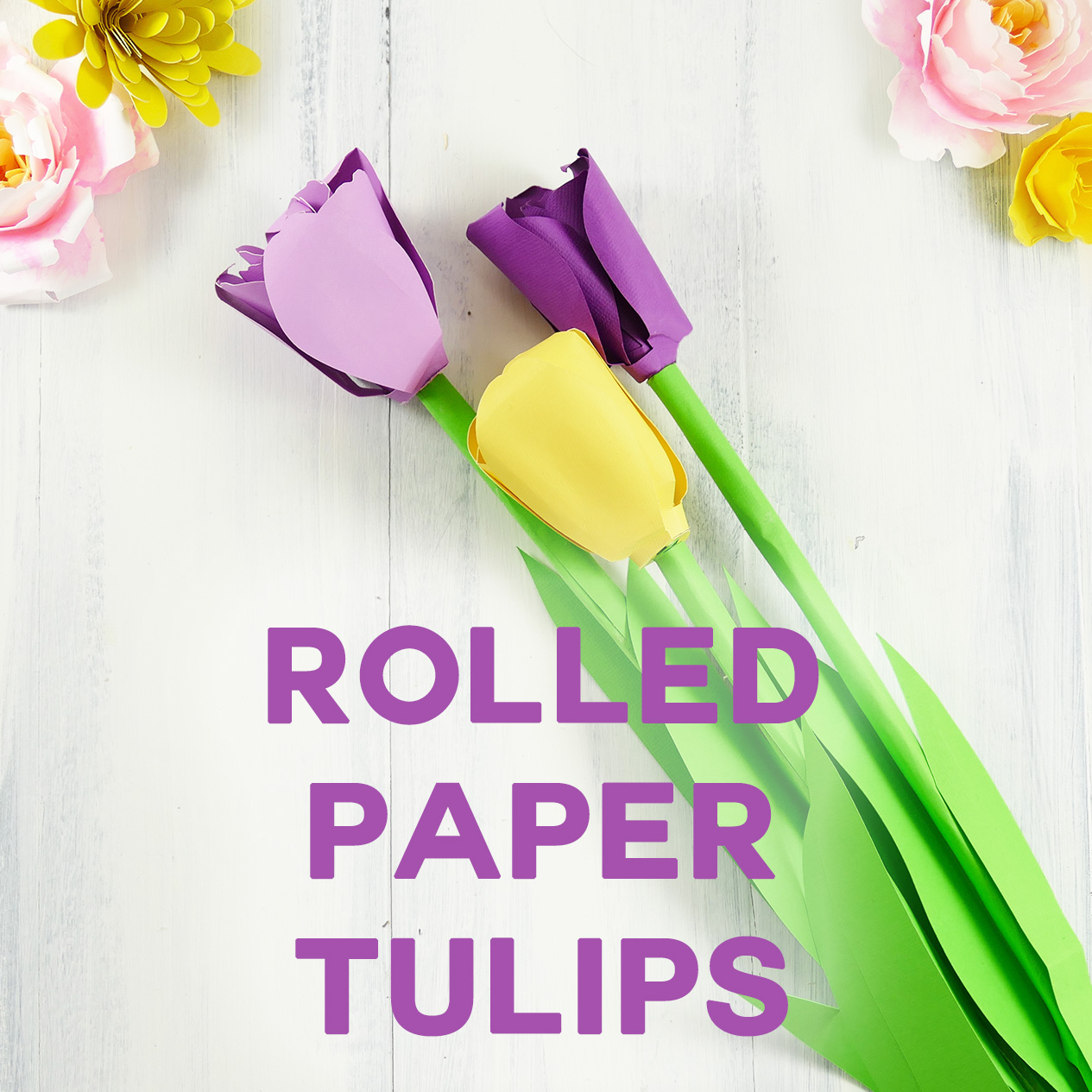 How To Make An Origami Tulip Make A Paper Tulip Bring Spring To Your Home Jennifer Maker