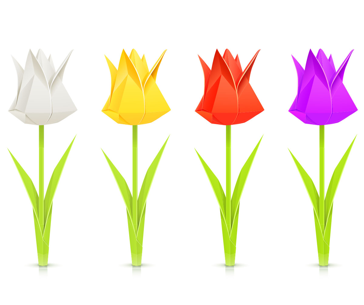 How To Make An Origami Tulip Make An Origami Paper Tulip Bouquet Little Passports