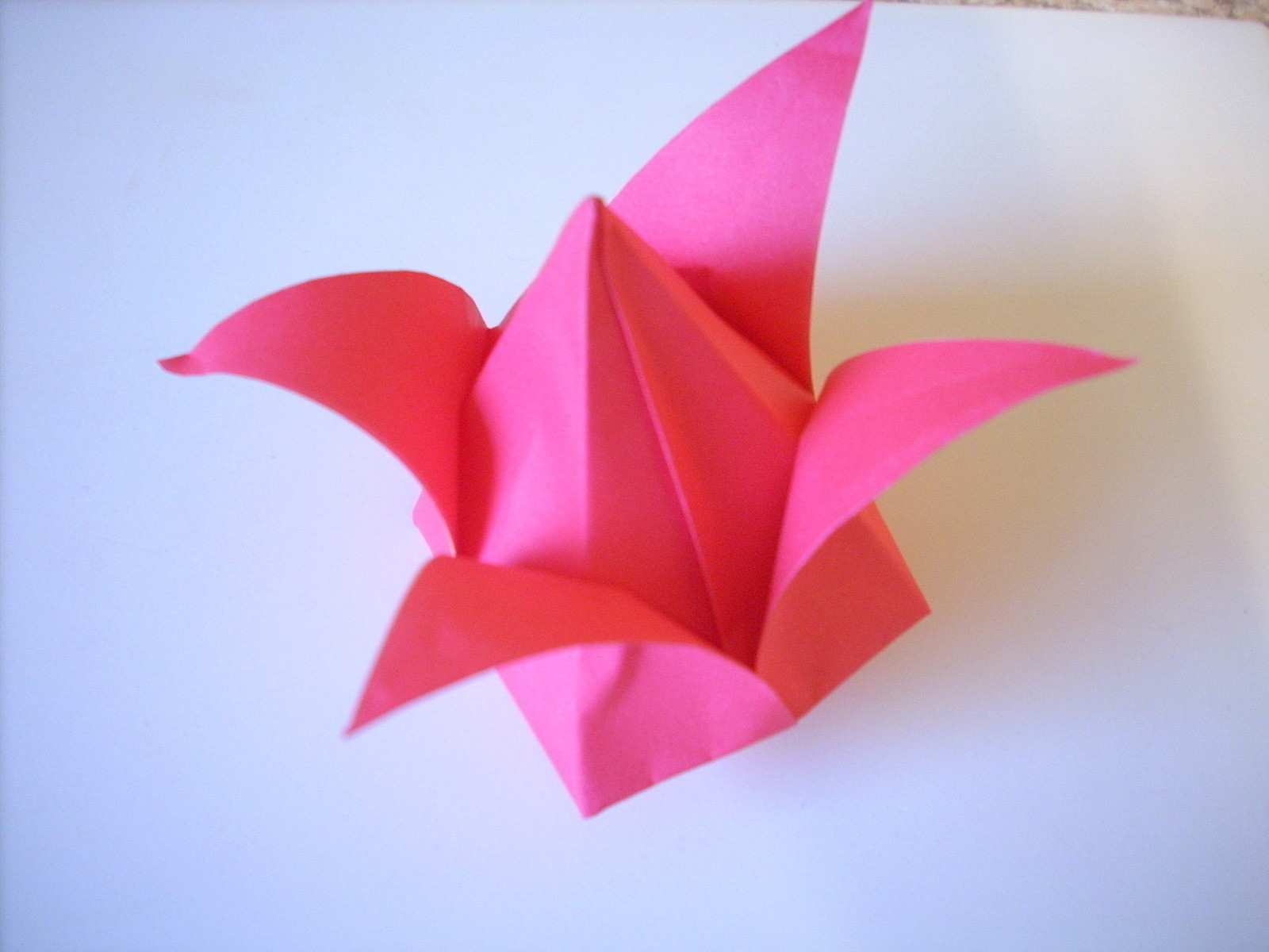 How To Make An Origami Tulip Origami Tulip An Origami Tulip Origami On Cut Out Keep