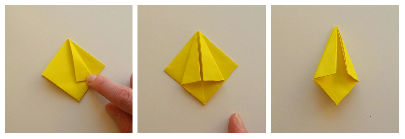 How To Make An Origami Tulip Origami Tulip Tutorial Step 5 Hobcraft Blog