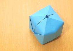 How To Make Origami Ball How To Make An Origami Balloon 8 Steps With Pictures Wikihow