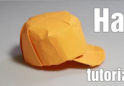 How To Make Origami Hat Paper Hat Origami Snapback Tutorial Diy Henry Phm