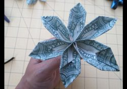 How To Make Origami Money Lei How To Make A Money Origami Flower For Leis Asimplysimplelife