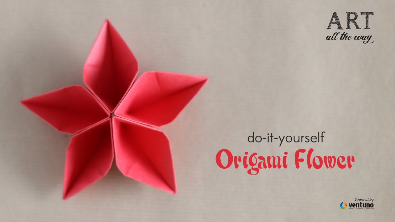 How To Origami Rose How To Fold Origami Flower Do It Yourself