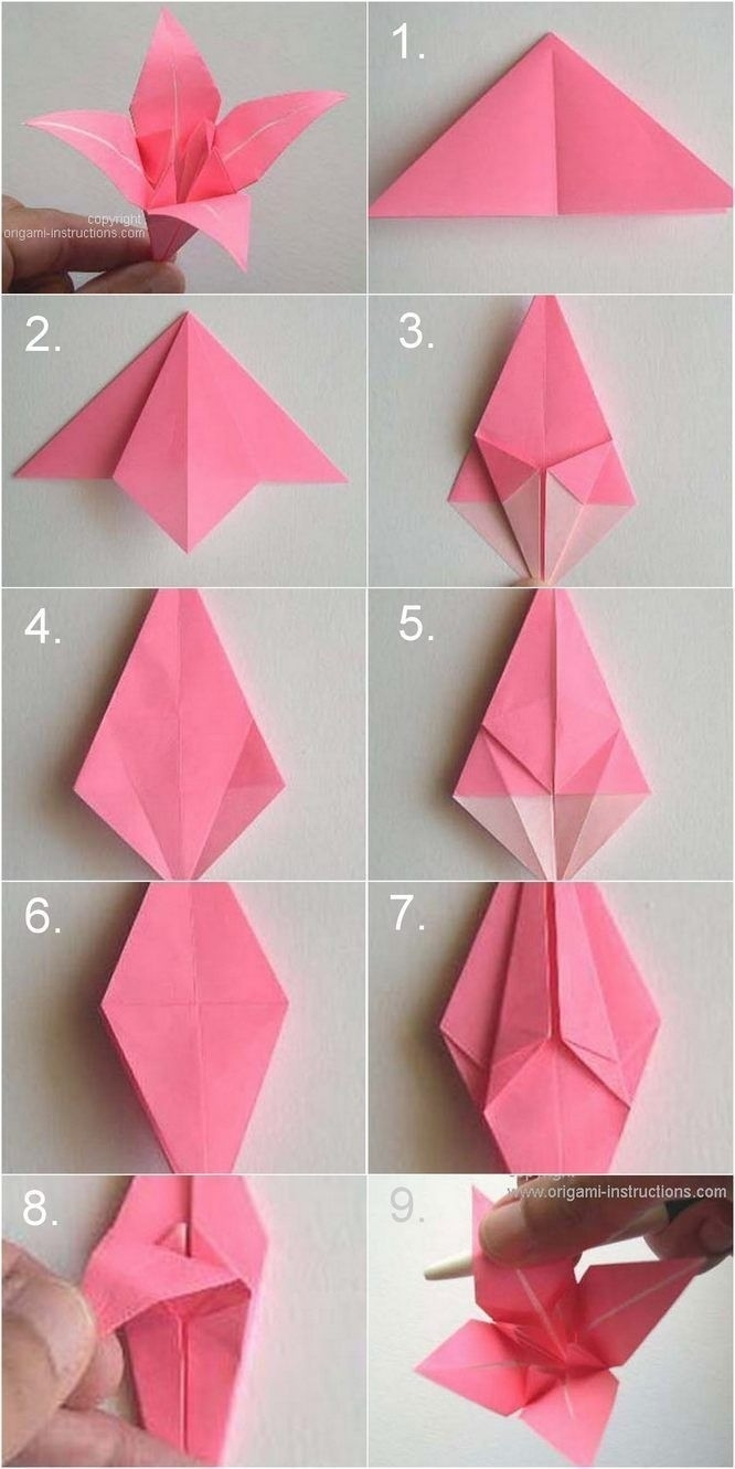 How To Origami Rose How To Make Paper Roses Origami Step Step Examples And Forms