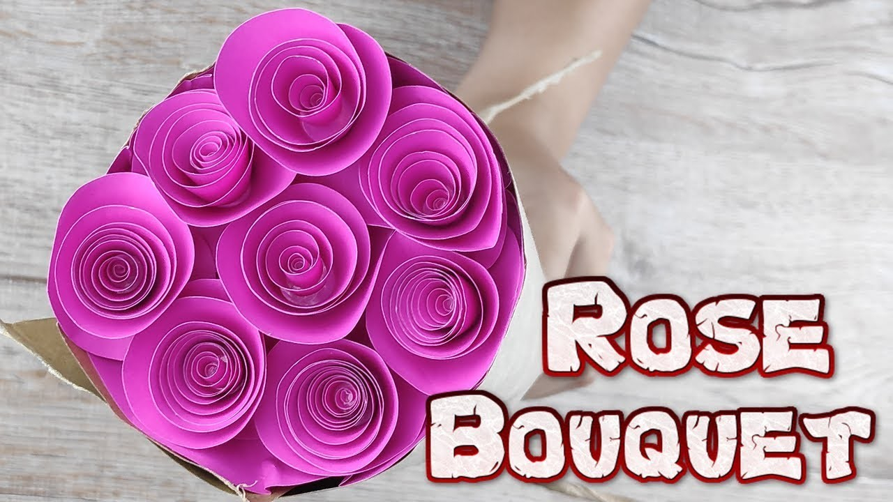 How To Origami Rose Origami Rose Bouquet How To Make A Rose Paper Flower Tutorials Diy