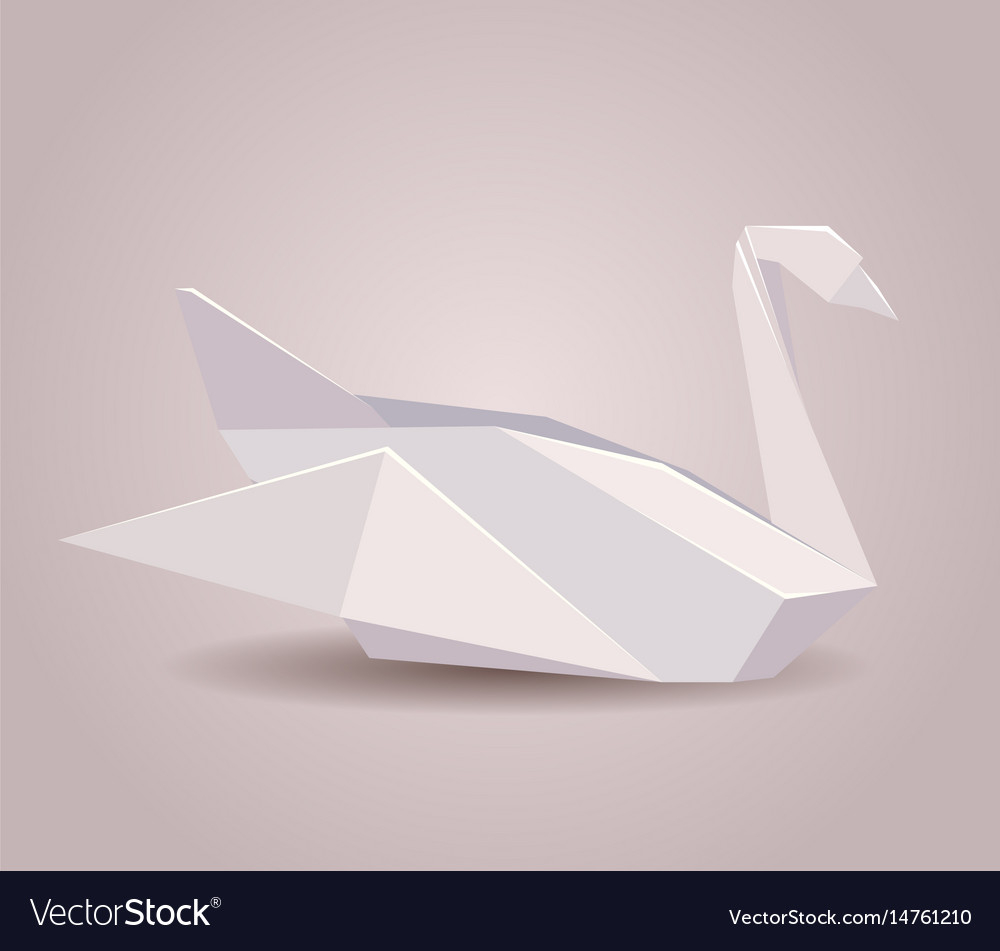 How To Origami Swan A Paper Origami Swan