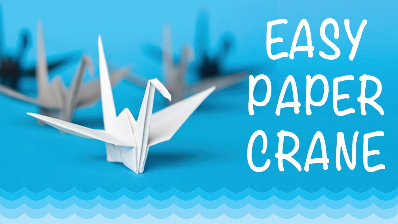 How To Origami Swan How To Make A Paper Crane Origami Step Step Easy