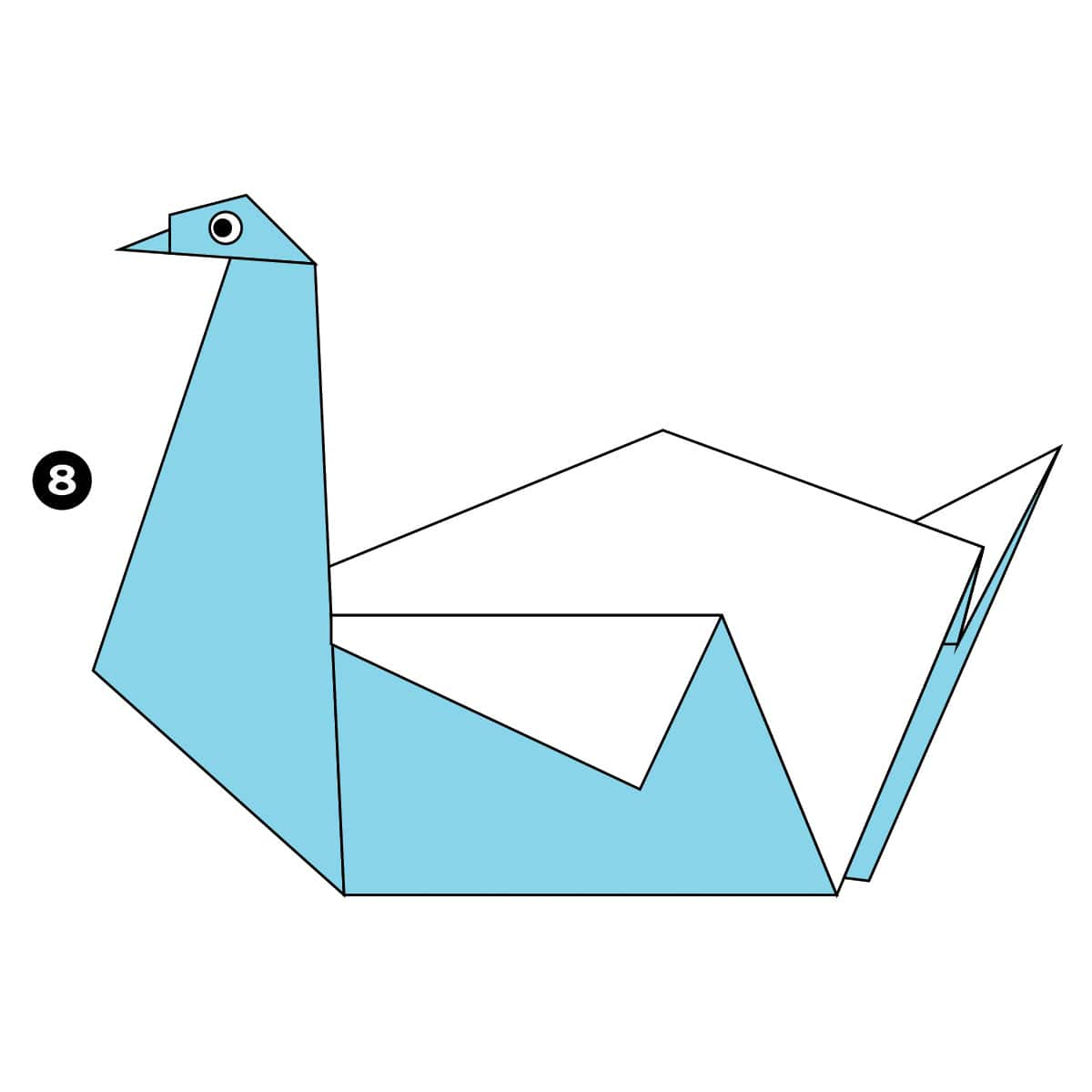 How To Origami Swan How To Make An Easy Origami Swan