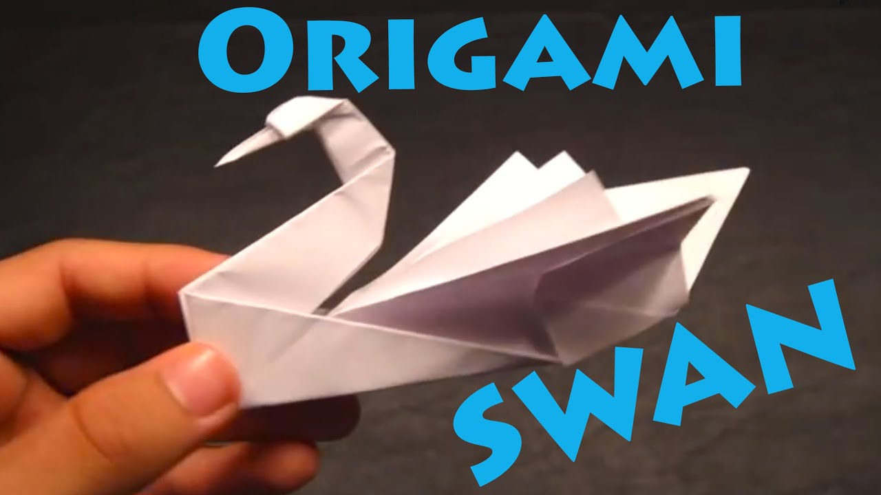 How To Origami Swan How To Make An Origami Swan Intermediate Robs World