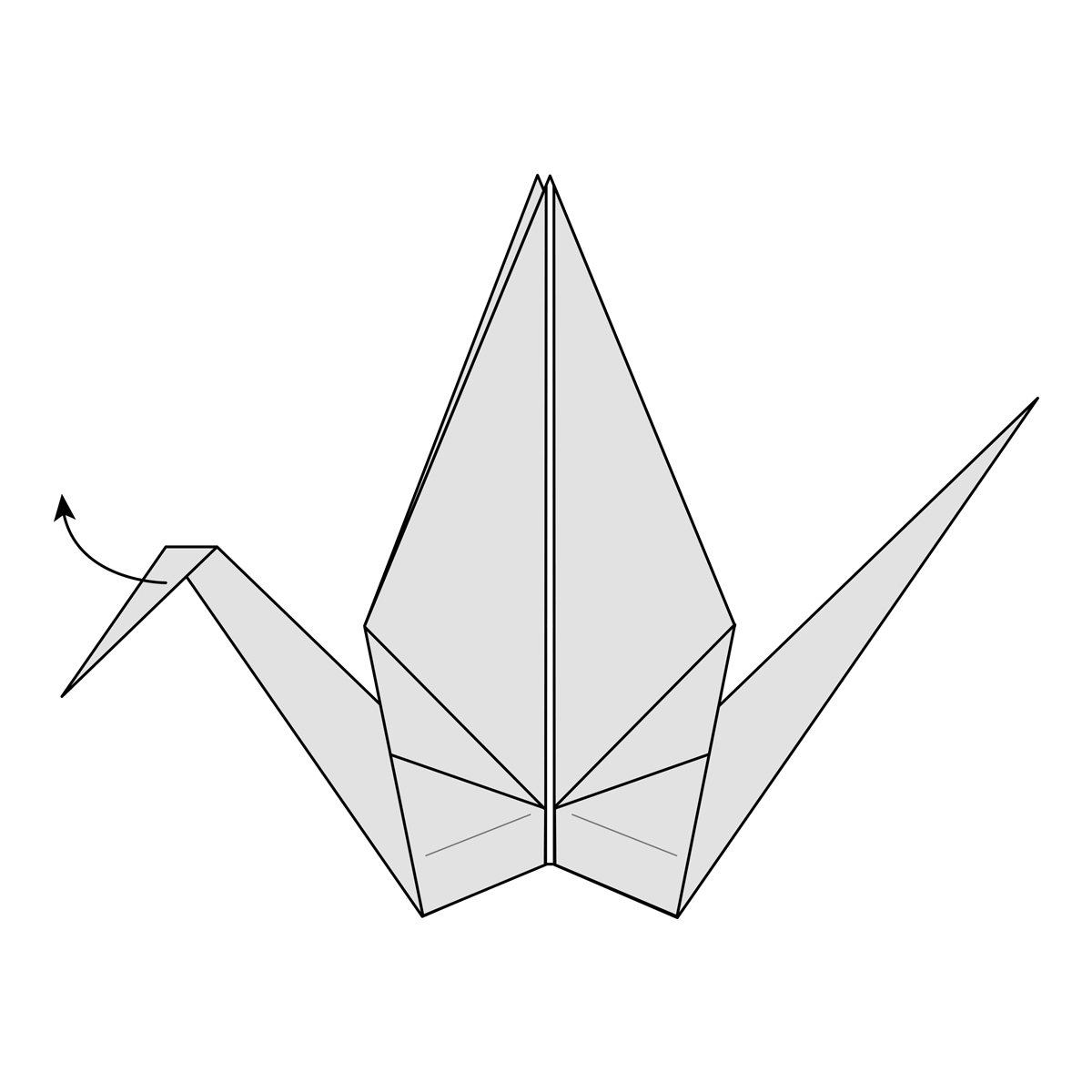 How To Origami Swan Origami Crane How To Fold A Traditional Paper Crane