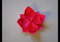 Lotus Flower Origami Origami How To Make A Lotus Flower