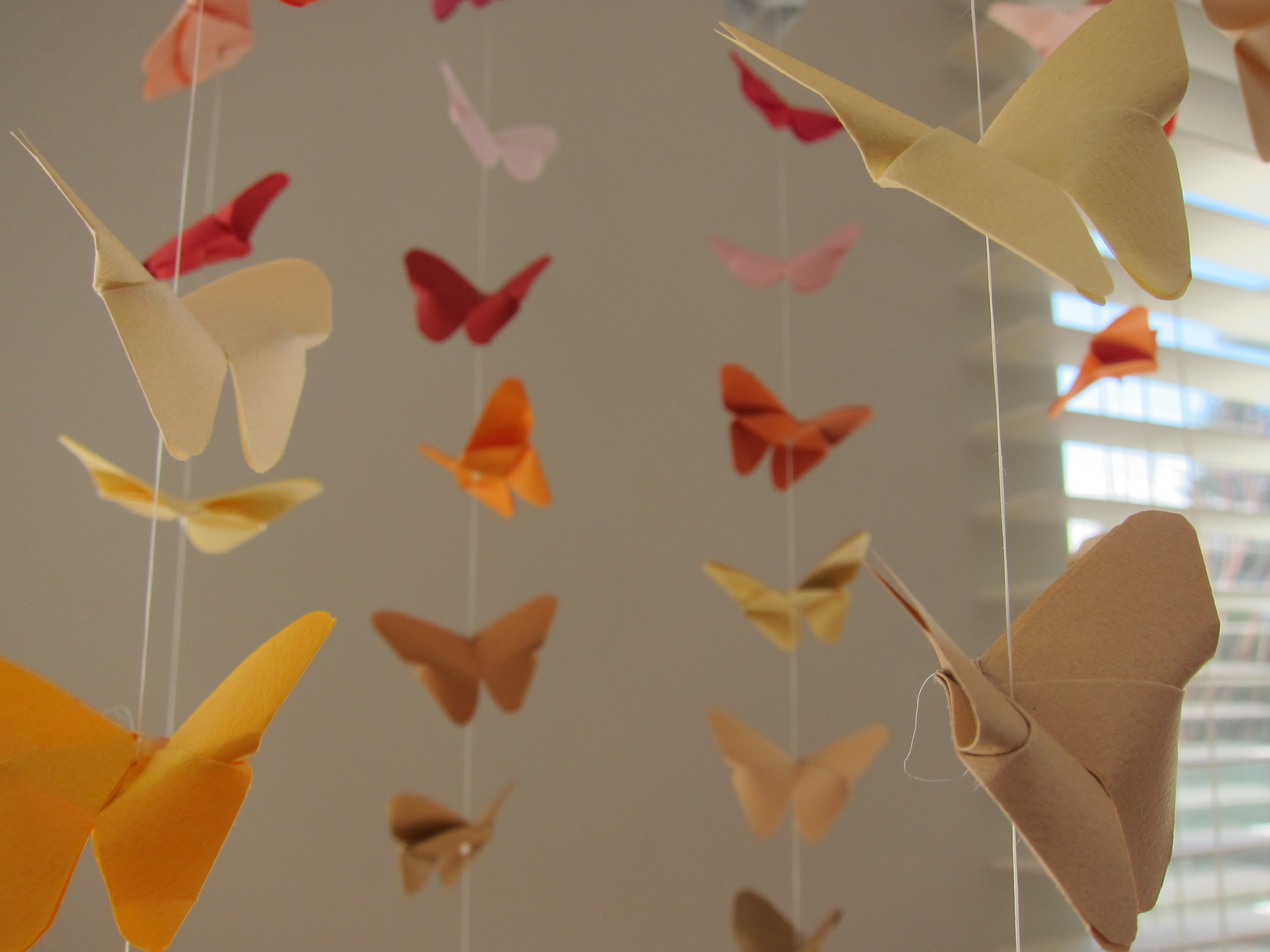 Make Easy Origami Butterfly Diy Origami Butterfly Mobile
