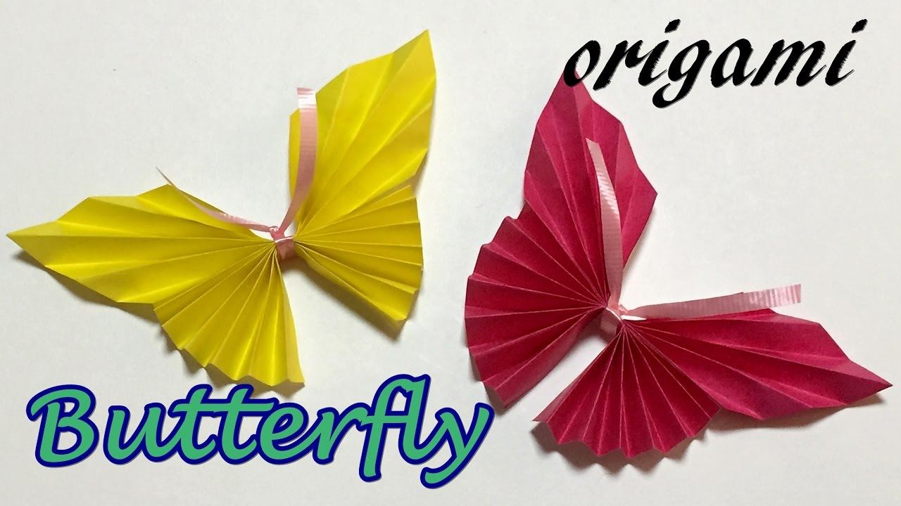 Make Easy Origami Butterfly Easy Origami Butterfly Instructions Step Step How To Make A Paper Butterfly One Piece Of Paper