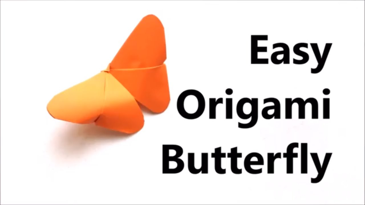 Make Easy Origami Butterfly Easy Origami Butterfly Origami Tutorial For Beginners Paper Butterfly Diy Craft Haven